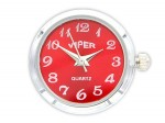 Chunk Druckknopf Uhr Clicks Chunks Snap Bead Buttons Uhren für Chunks Leder Armband Bild 4