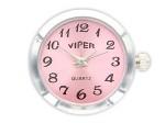 Chunk Druckknopf Uhr Clicks Chunks Snap Bead Buttons Uhren für Chunks Leder Armband Bild 6