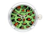 Chunk Druckknopf Uhr Clicks Chunks Snap Bead Buttons Uhren für Chunks Leder Armband Bild 10